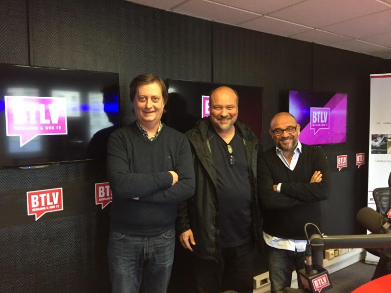 Mushum à l'émission de BTLV avec Bob et François Deymier